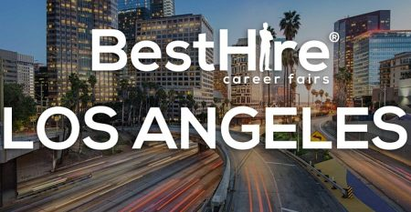 City of Los Angeles with Best Hire Career Fair logo