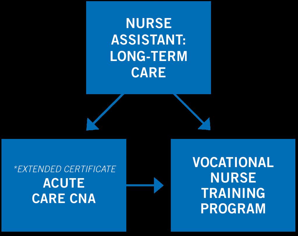 Nurse Assistant Pathway Map
